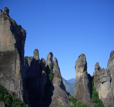 The unique and awe inspiring Meteora
