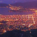 Night time view of Volos from Makrinitsa